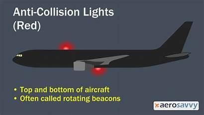 Lights Collision Aircraft Anti Airplane Flashing Passenger