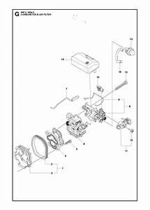 Husqvarna 440 E Ii Chainsaw Carburetor  U0026 Air Filter Spare