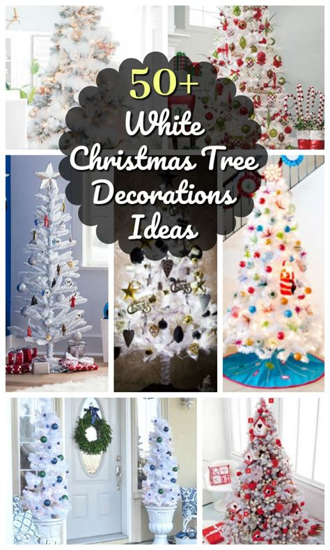 Ideas Decorating White Tree by Top White Tree Decorations