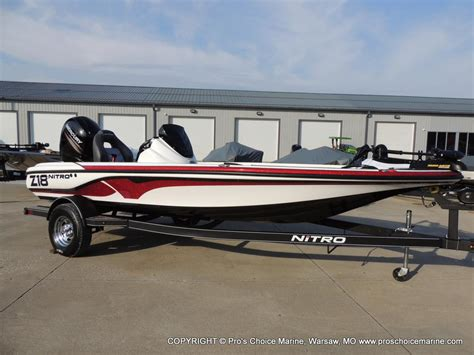 Nitro Boats Home Page by 2017 Nitro Z18 For Sale In Warsaw Mo Pros Choice Marine