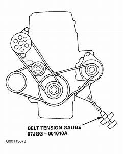1999 Honda Accord Serpentine Belt Routing And Timing Belt