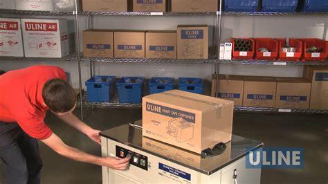 uline   setup operation  routine maintenance youtube