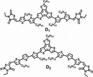 Chemical Structure Of The Small Molecules D1 And D2