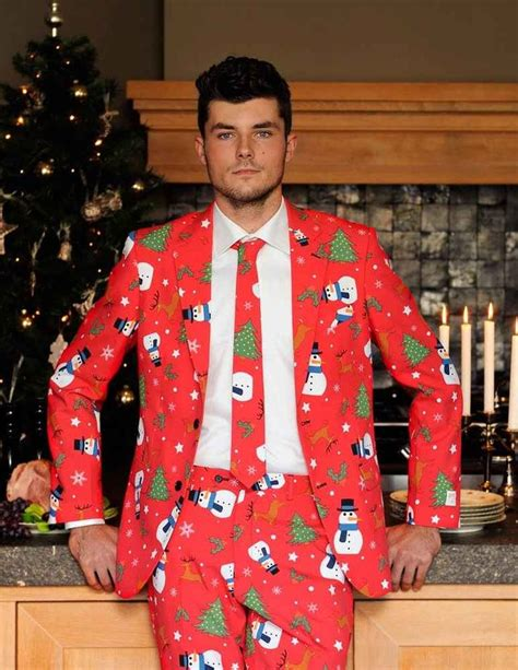 ugly christmas suits by opposuits supercompressor com