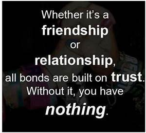 Whether it's a friendship or relationship, all bonds are ...