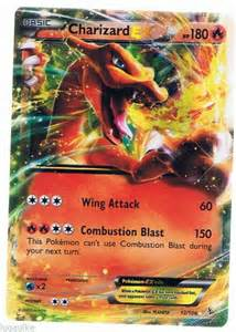 Mega Charizard Pokemon Card Ex