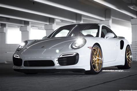 911 Turbo S Wheels by White Porsche Turbo S Adv05s Track Spec Cs Series Wheels