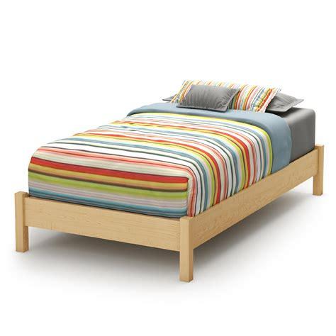 twin black platform bed sears com