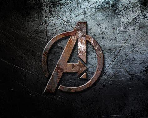 avengers logo  uhd wallpaper