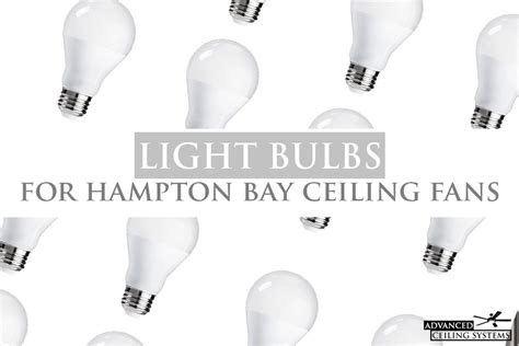 hton bay ceiling fan light bulb replacement to brighter