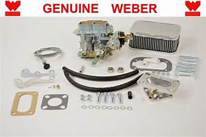 Genuine Weber 32  36 Dgv Manual Choke Carburetor Kit Jeep