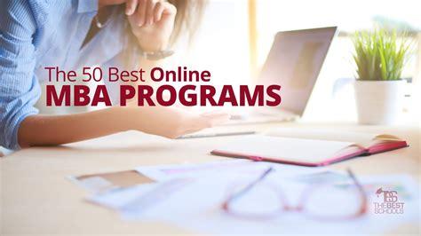The 50 Best Online MBA Programs