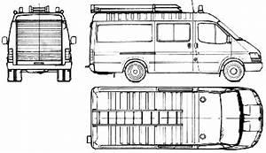 1986 ford transit ft190 fire van blueprints free outlines With custom ford transit vans