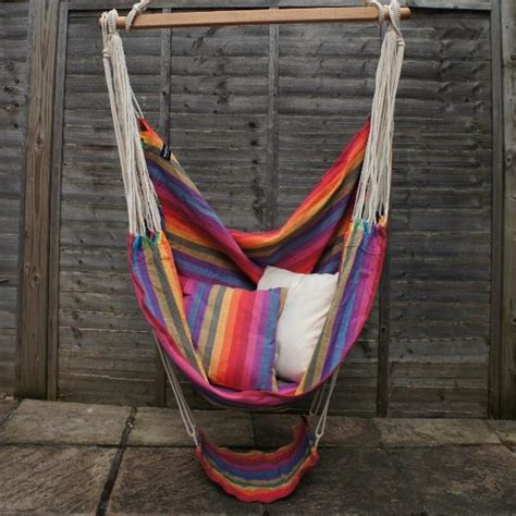 Hammock Chair With Footrest by Hanging Chair Hammock With Footrest Well Hung Hammocks