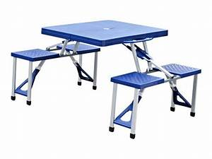 Table De Camping Pliante : pique nique table pliante table de camping portable de ~ Dailycaller-alerts.com Idées de Décoration