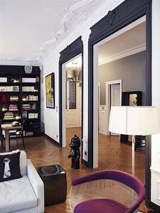 les 25 meilleures idees de la categorie moulures sur With quelle couleur peindre un couloir 18 moulure mur haussmannien palzon