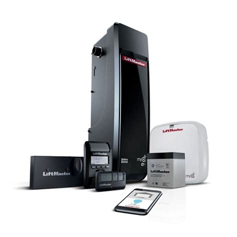 buy liftmaster  dc battery backup wall mount wi fi