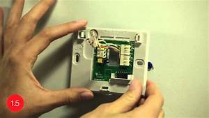Install The Honeywell Wifi Smart Thermostat