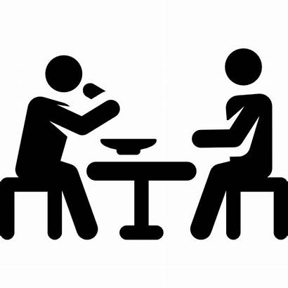 Eating Icon Icons Transparent Lunch Break Background
