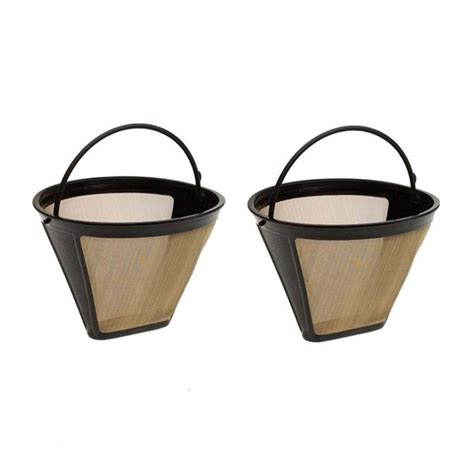 The original coffee filter was made of paper, but today there are arguments over whether bleached or unbleached paper coffee filters are best. Mosunx Reusable Cone Coffee Filter Permanent Washable Coffee Filter Machines And Brewer ...