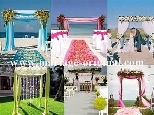 Arche Mariage Pas Cher : decoration mariage avec tulle ~ Melissatoandfro.com Idées de Décoration