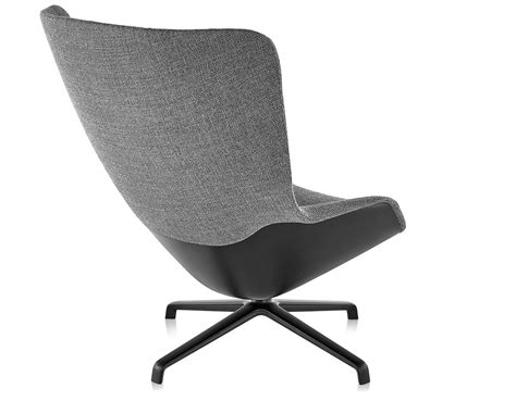 striad high back lounge chair with 4 base