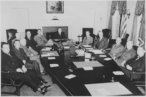 Cabinet White House by File President Truman And His Cabinet In The Cabinet Room