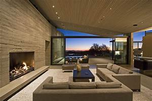 modern living room with fireplace marceladickcom With feel the contemporary living room