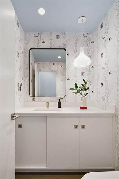 Hgtv Powder Bathroom Bold Clean Waktu Bereskan