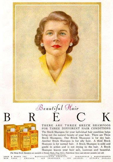 Breck Shampoo For Beautiful Hair Mad Men Art
