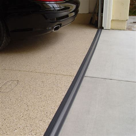 garage door floor seal tsunami garage door seal gray in garage floor protection