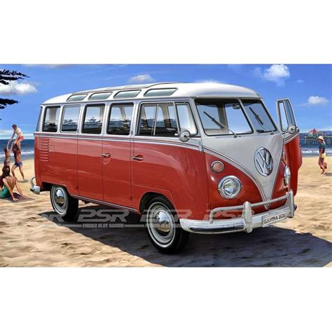 vw t1 revell vw t1 samba model kit 1 24 07399