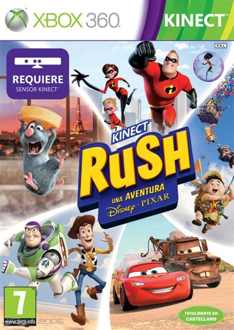 The camera boasts a better field of view, allowing it to function well in large and small spaces. Kinect Rush Una aventura Disney · Pixar para Xbox 360 - 3DJuegos