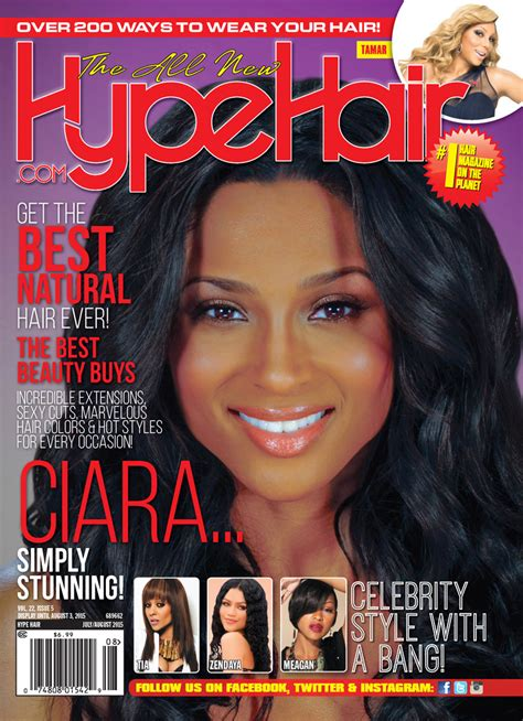 ciara covers hype hair julyaugust  issue