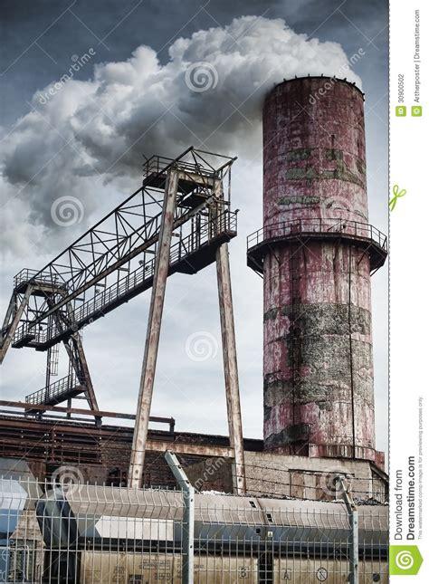 factory chimney stock photography image