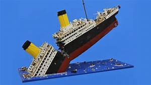 Massive Sinking LEGO Titanic Required 120,000 Pieces to ...