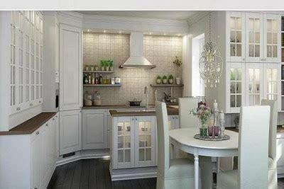 cocinas de aspecto moderno  madera blanca