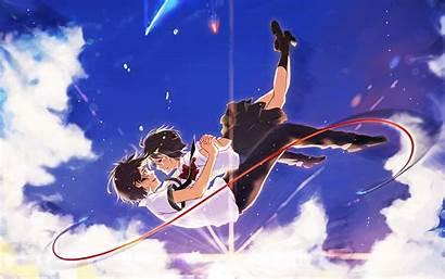Wallpapers Mitsuha Kimi Wa Na Taki Anime