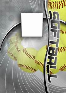 Free Sports Card Template Softball Photo Templates
