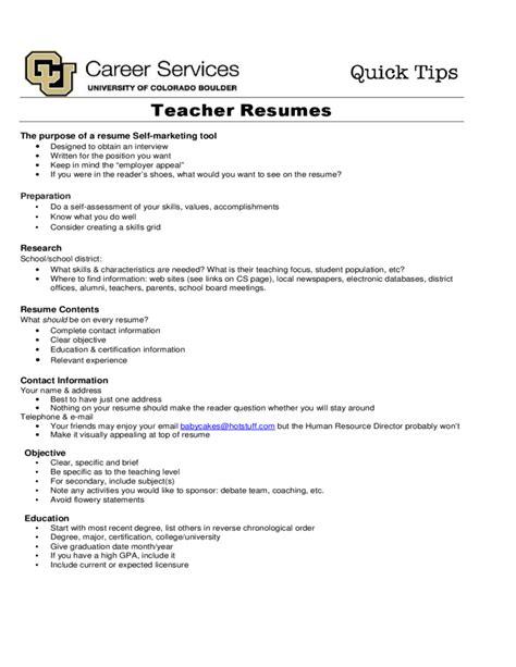 Resumes Colorado by Sle Resume Free
