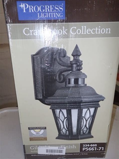 cranbrook collection 1 light outdoor gilded iron motion