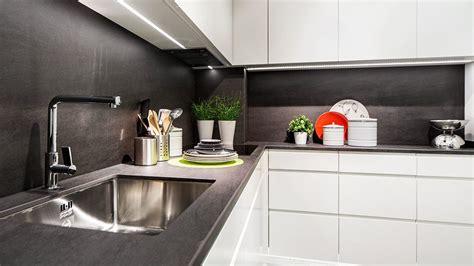 cocina blanca  negra serie leipzig muebles de cocina en madrid muebles de cocina cocinas