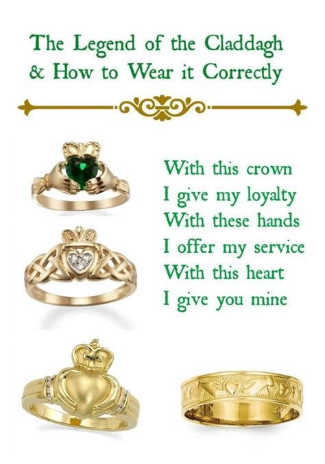 25 ideas about claddagh rings on
