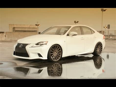 2014 lexus is250 rims 2014 lexus is250 f sport vossen 20 vfs2 concave wheels