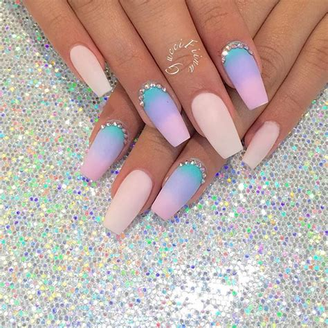 The 25+ best ideas about Unicorn Nails on Pinterest | Pretty nails Pastel nail art and ...