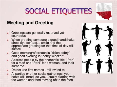 social etiquette business and social etiquettes of poland