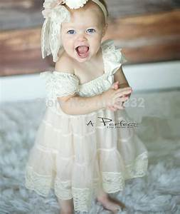 deluxe baby girl lace dress flower girl dresses for With infant dresses for wedding