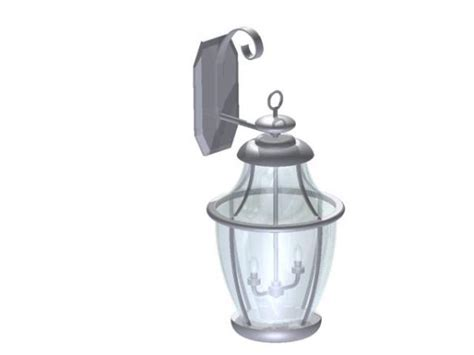 revitcity object lighting exterior sconce