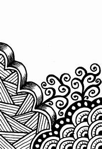 Creative Crafting: How To Zen Doodle Note: start simple ...