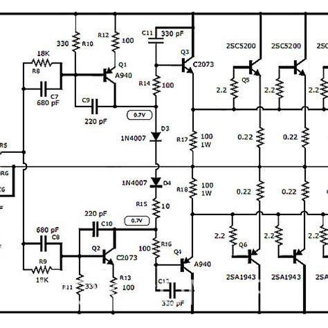 Mosfet Amplifier Wiring Diagram Source